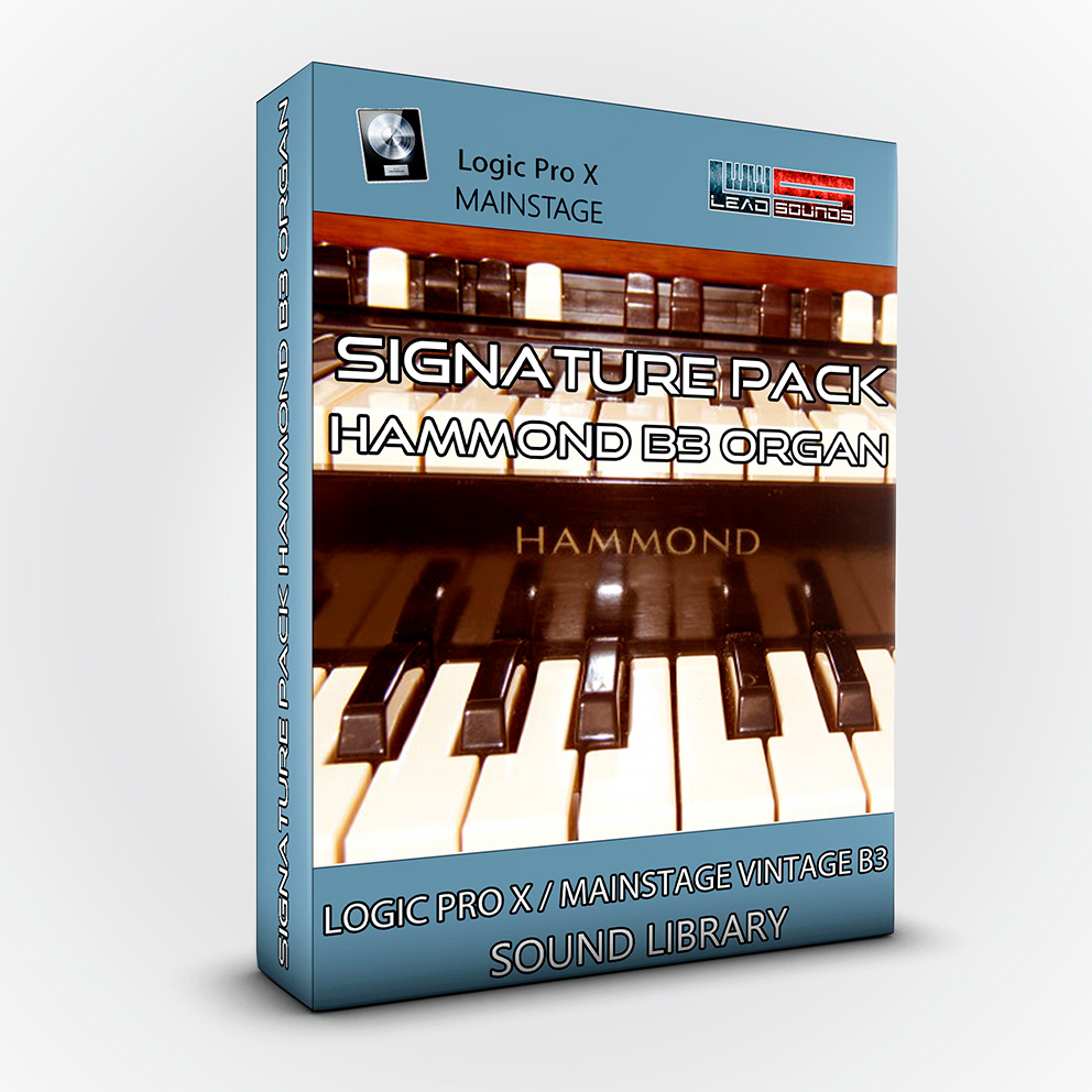 Signature Pack Hammond B3 Organ - Logic Pro X / MainStage Vintage B3