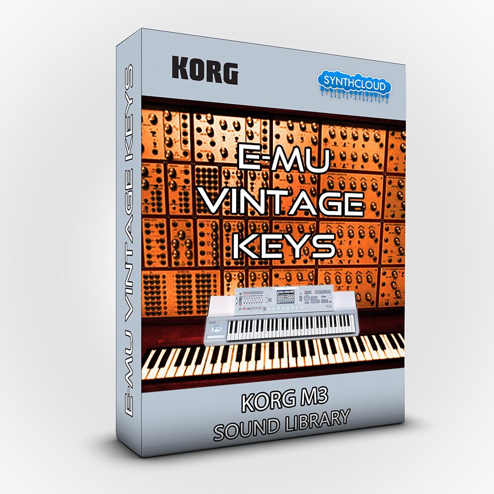 SCL179 - E-mu Vintage Keys - Korg M3