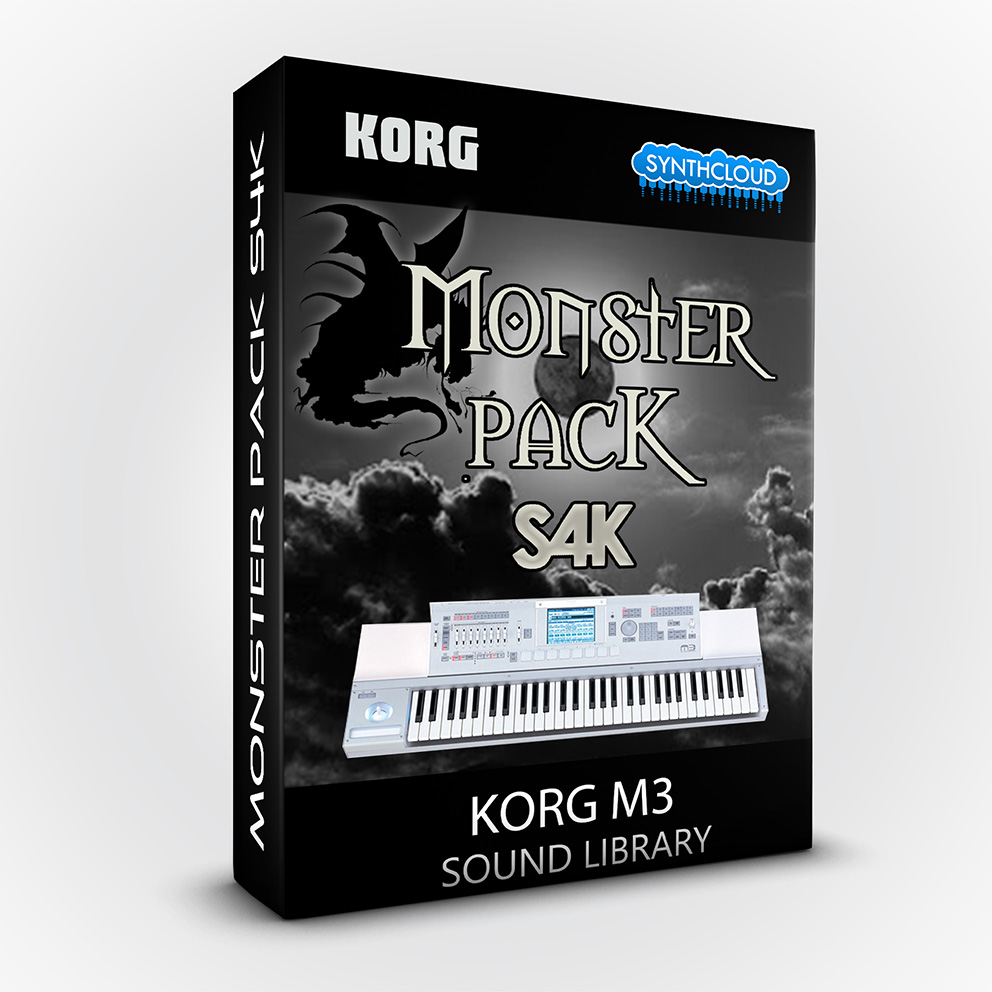 S4K103 - Monster Pack S4K ( Bundle ) - Korg M3