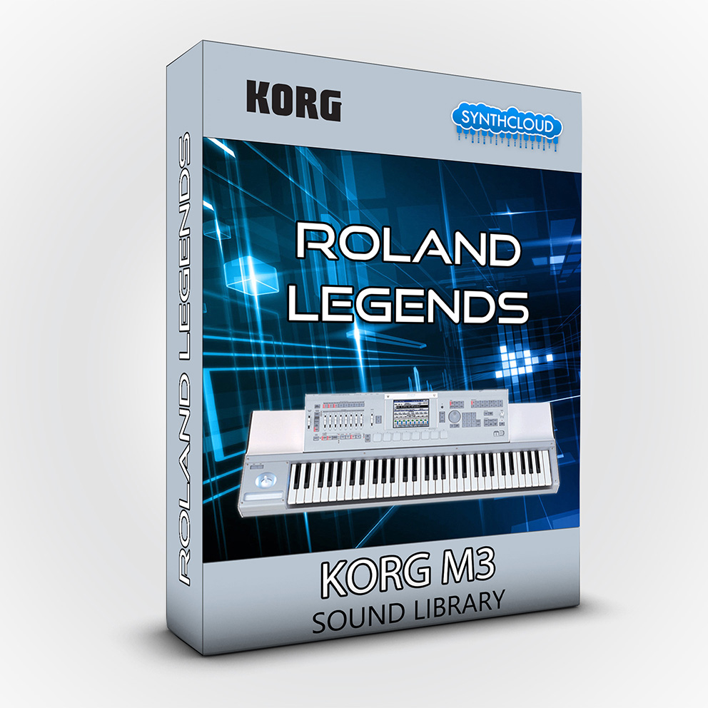 SCL185 - Roland legends - Korg M3