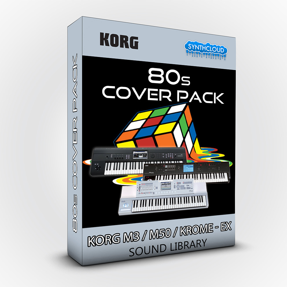SCL21 - 80s Cover Pack - Korg M3 / M50 / Krome / Ex