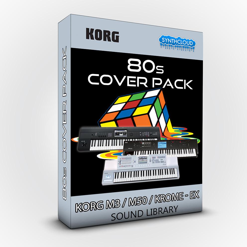 SCL21 - 80s Cover Pack - Korg M3 / M50 / Krome / Krome Ex