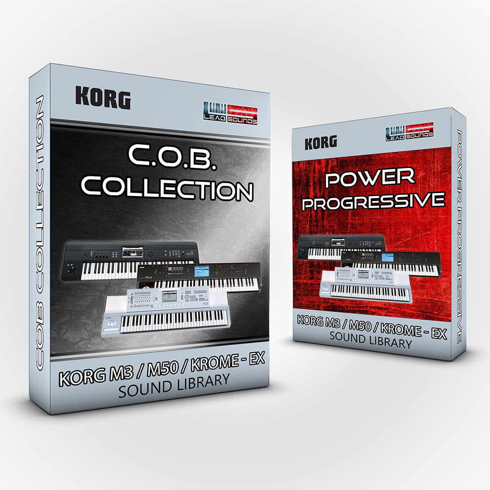 C.O.B. Covers + Power / Progressive Pack - Korg M3 M50 KROME