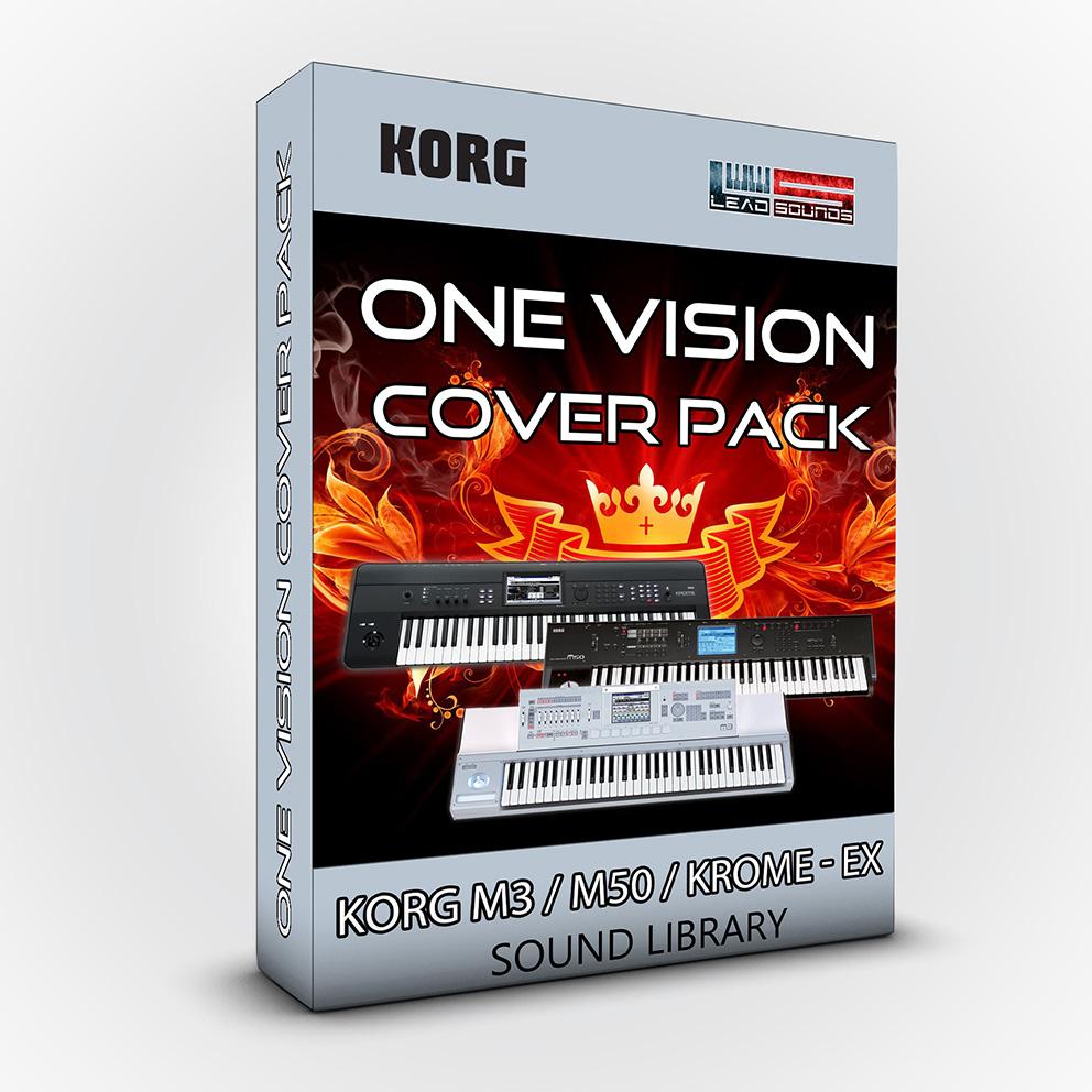 SCL07 - One Vision V.2 Cover Pack - Korg M3 / M50 / Krome / Krome Ex