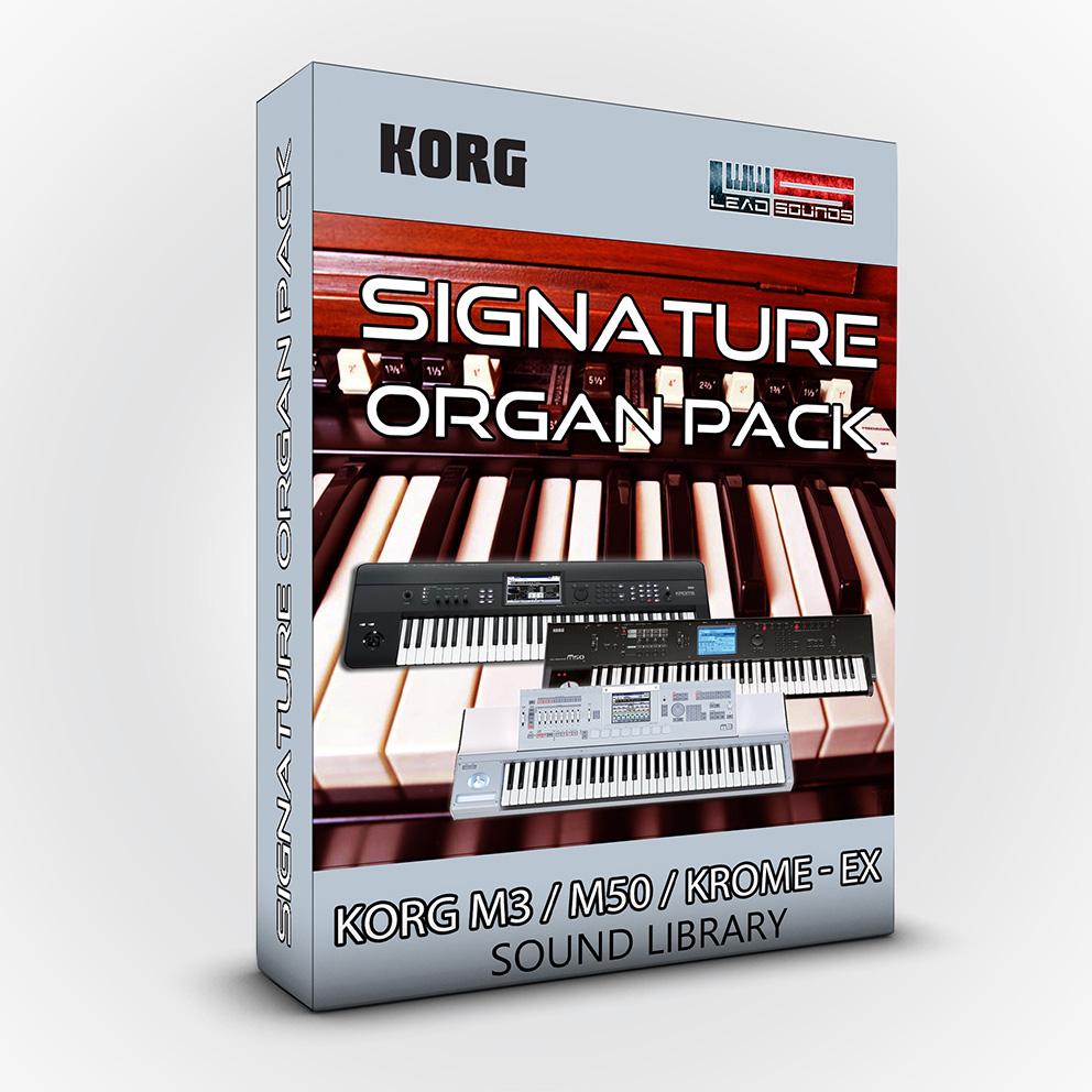 LDX84 - Signature Organ Pack - KORG M3 / M50 / Krome