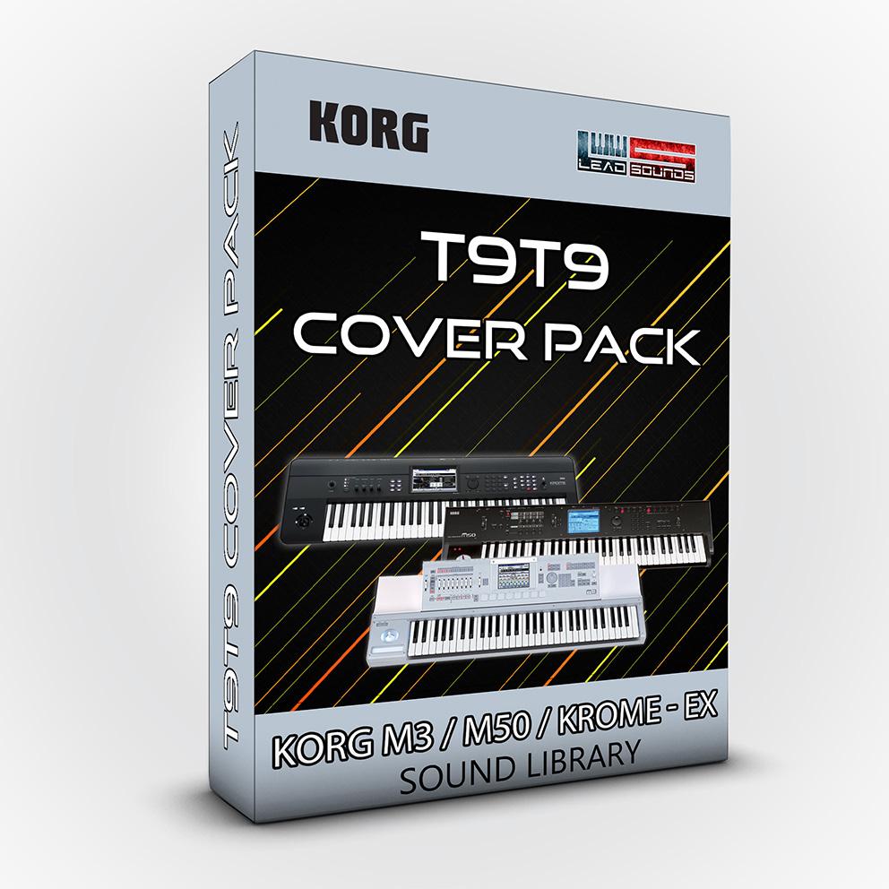 SCL06 - T9T9 Cover Pack - Korg M3 / M50 / Krome / Krome Ex