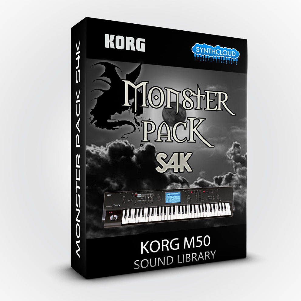 S4K103 - Monster Pack S4K ( Bundle ) - Korg M50
