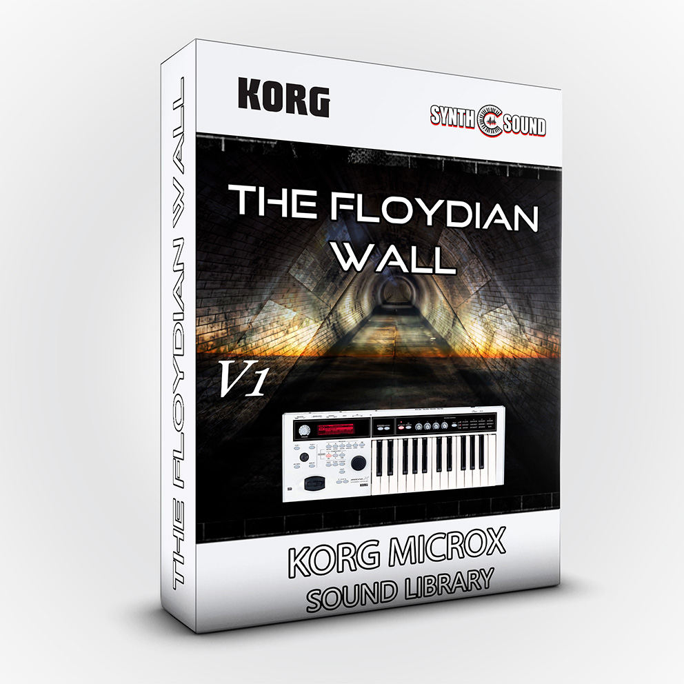 SSX101 - The Floydian Wall V.1 - Korg MicroX