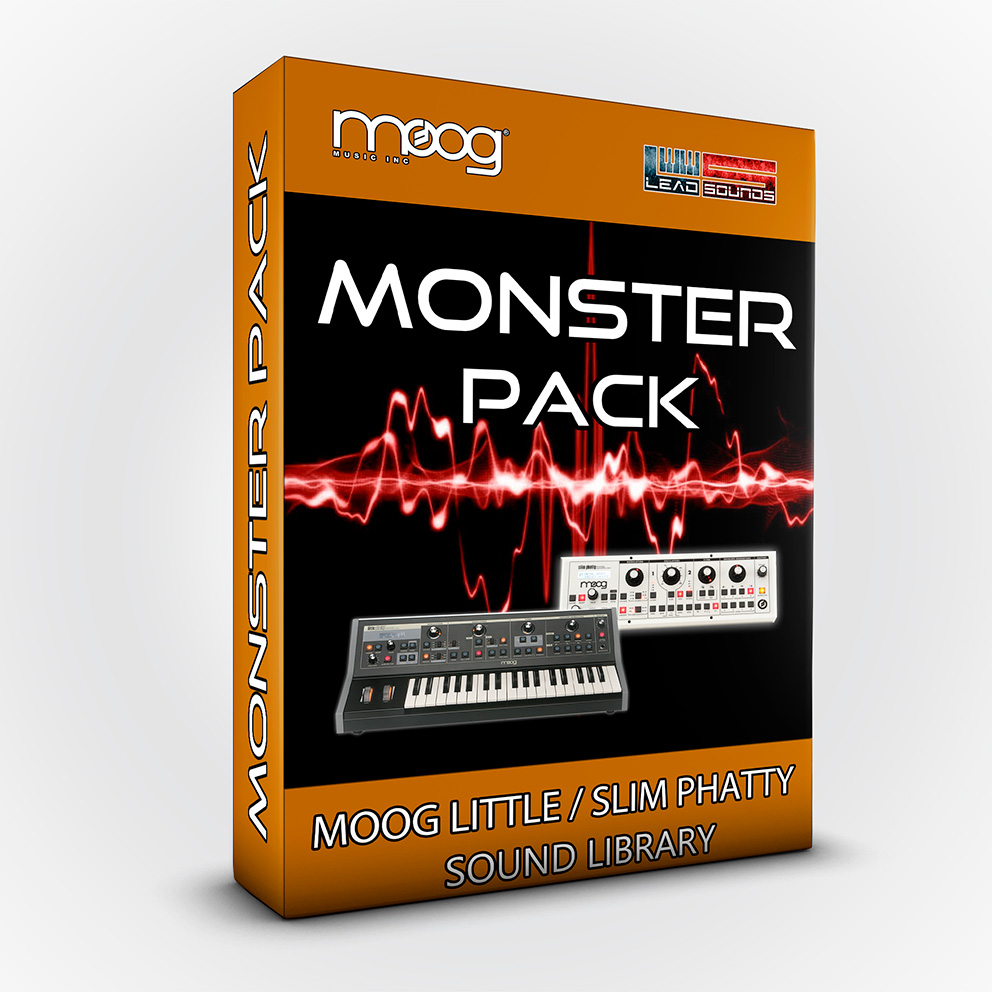 Monster Pack - Moog Little / Slim Phatty