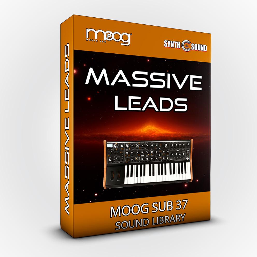 SSX127 - Massive Leads - Moog Sub 37