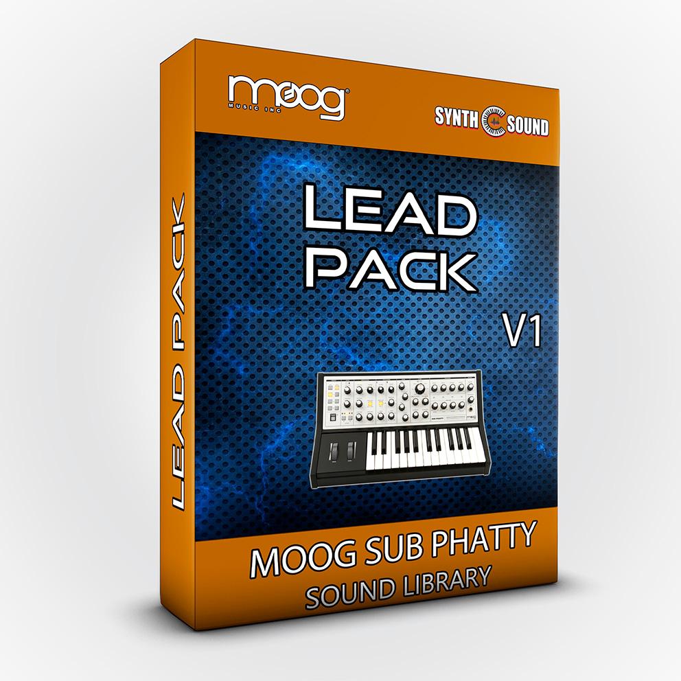 SSX126 -  Lead Pack V.1 - Moog Sub Phatty