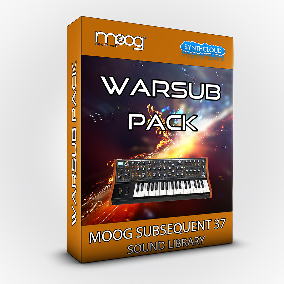 SCL155 - Warsub Pack - Moog Subsequent 37