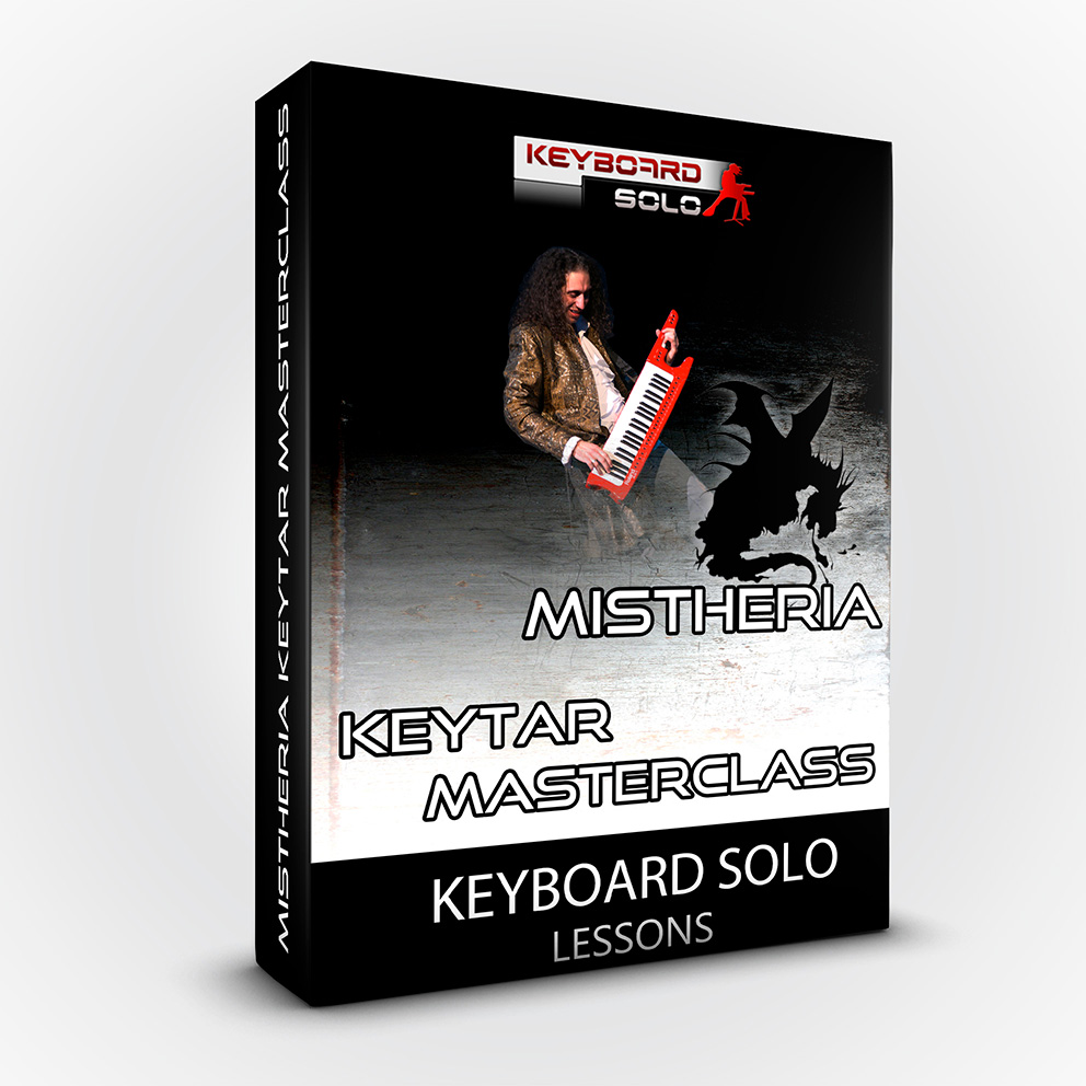 Mistheria Keytar Masterclass - Keyboard Solo Shredding Tecniques