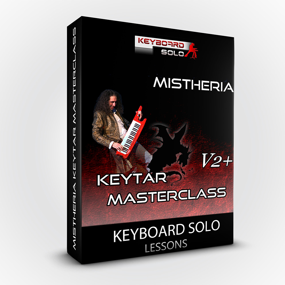 Mistheria Keytar Masterclass V2 Plus - Keyboard Solo Shredding Tecniques