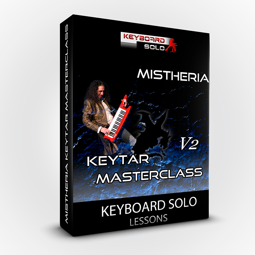 Mistheria Keytar Masterclass V2 - Keyboard Solo Shredding Tecniques