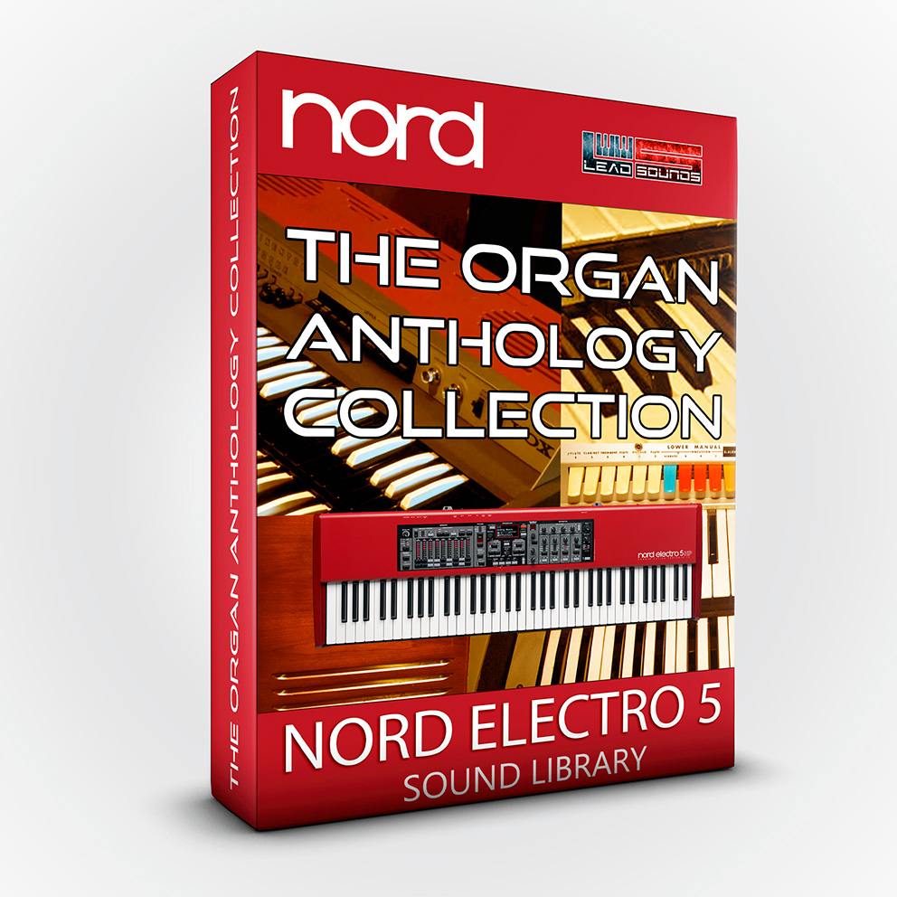 SCL85 - The Organ Anthology Collection - Nord Electro 5 series