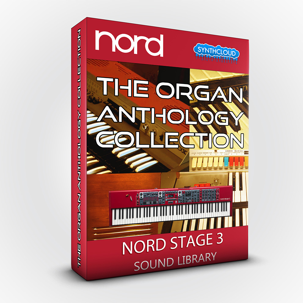 SCL85 - The Organ Anthology Collection - Nord Stage 3