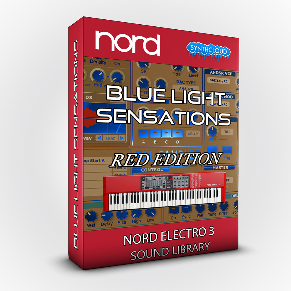 SCL114 - Blue Light Sensations (Red Edition) - Nord Electro 3