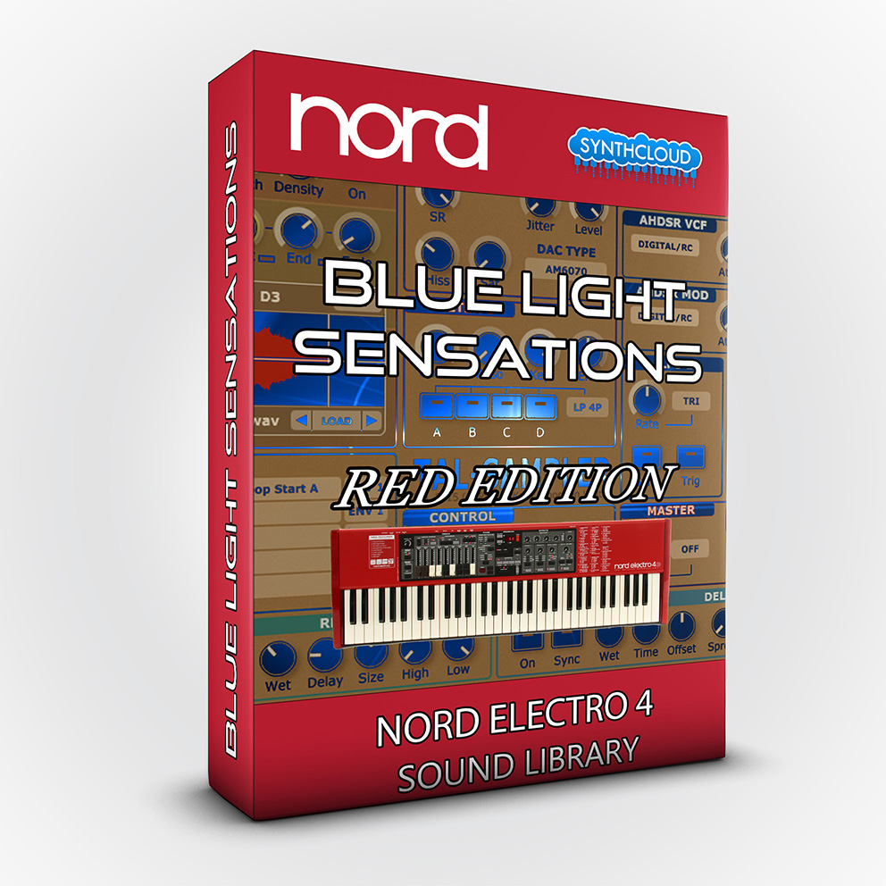 SCL114 - Blue Light Sensations (Red Edition) - Nord Electro 4