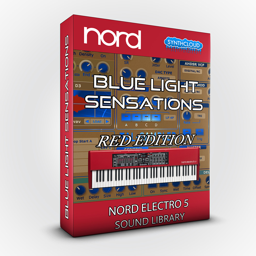 SCL114 - Blue Light Sensations (Red Edition) - Nord Electro 5