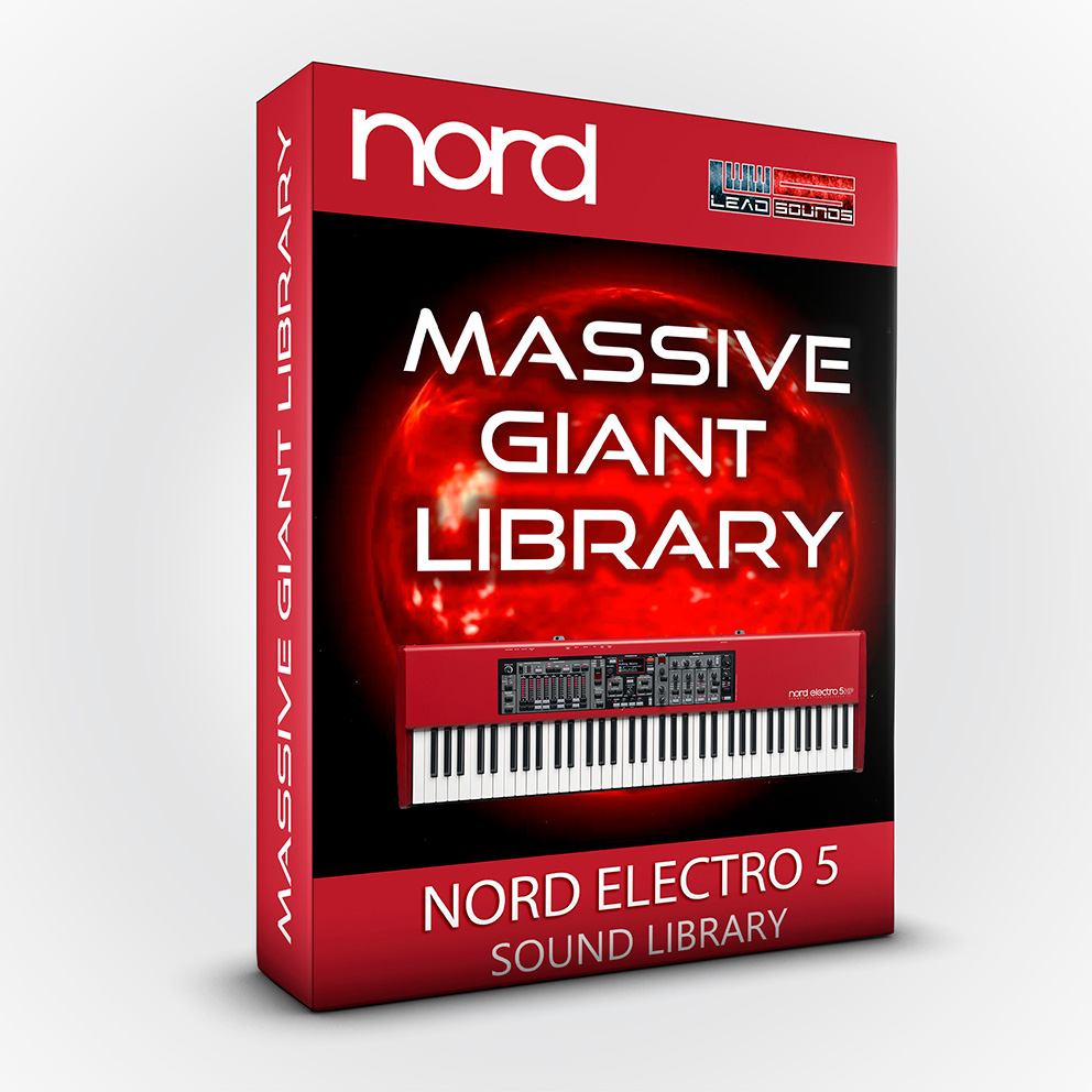 SCL71 - Massive Giant Library - Nord Electro 5 Series
