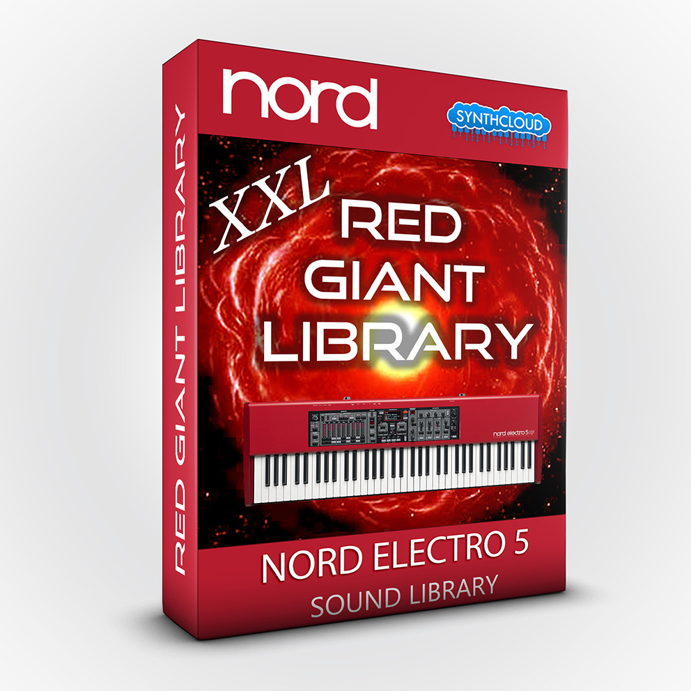 ASL006 - Red Giant XXL / Bundle Pack Vol 1,2&3 - Nord Electro 5 Series