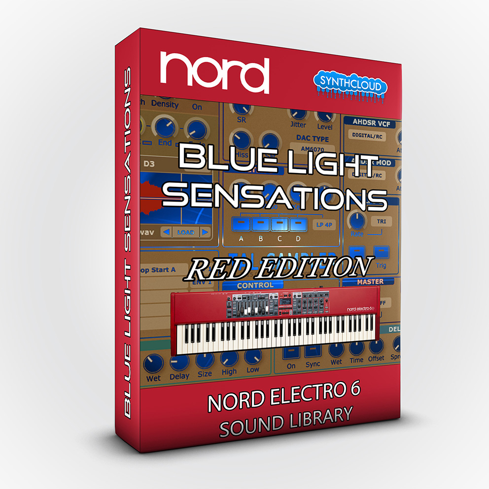 SCL114 - Blue Light Sensations (Red Edition) - Nord Electro 6