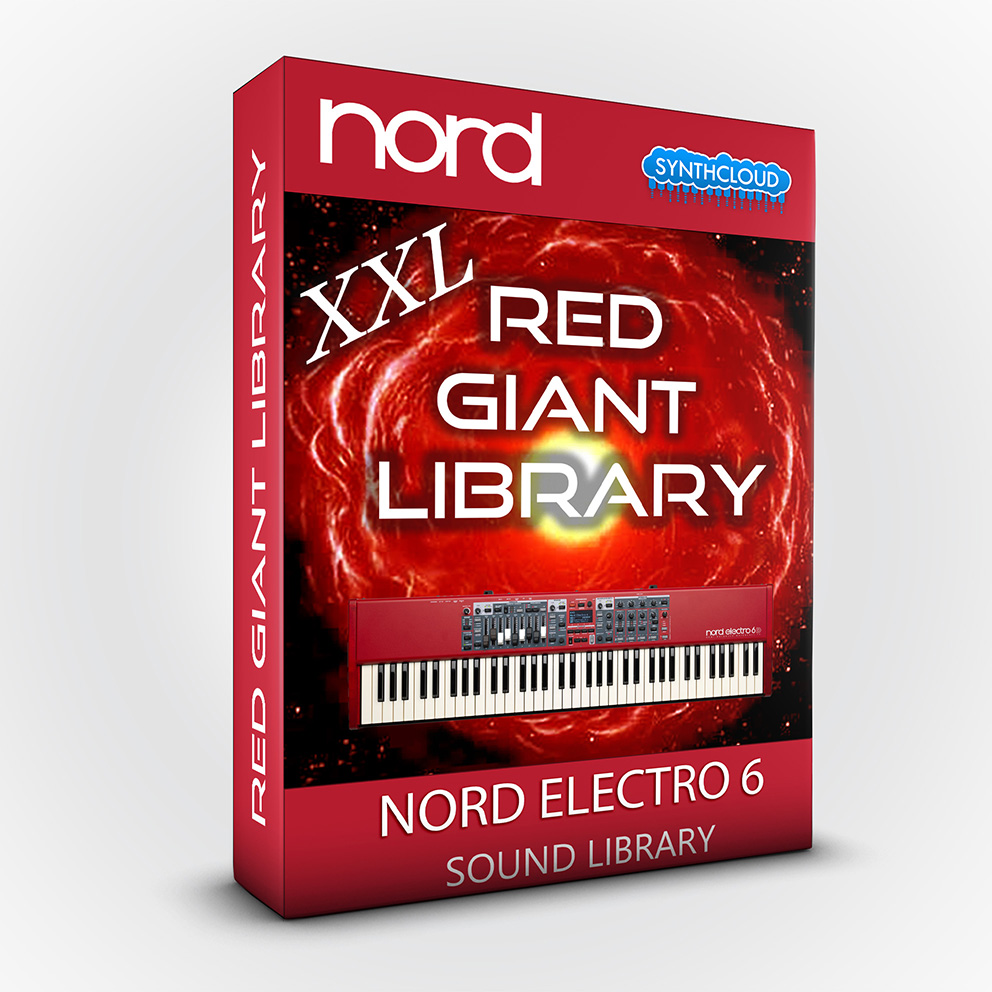 ASL006 - Red Giant XXL / Bundle Pack Vol 1,2&3 - Nord Electro 6