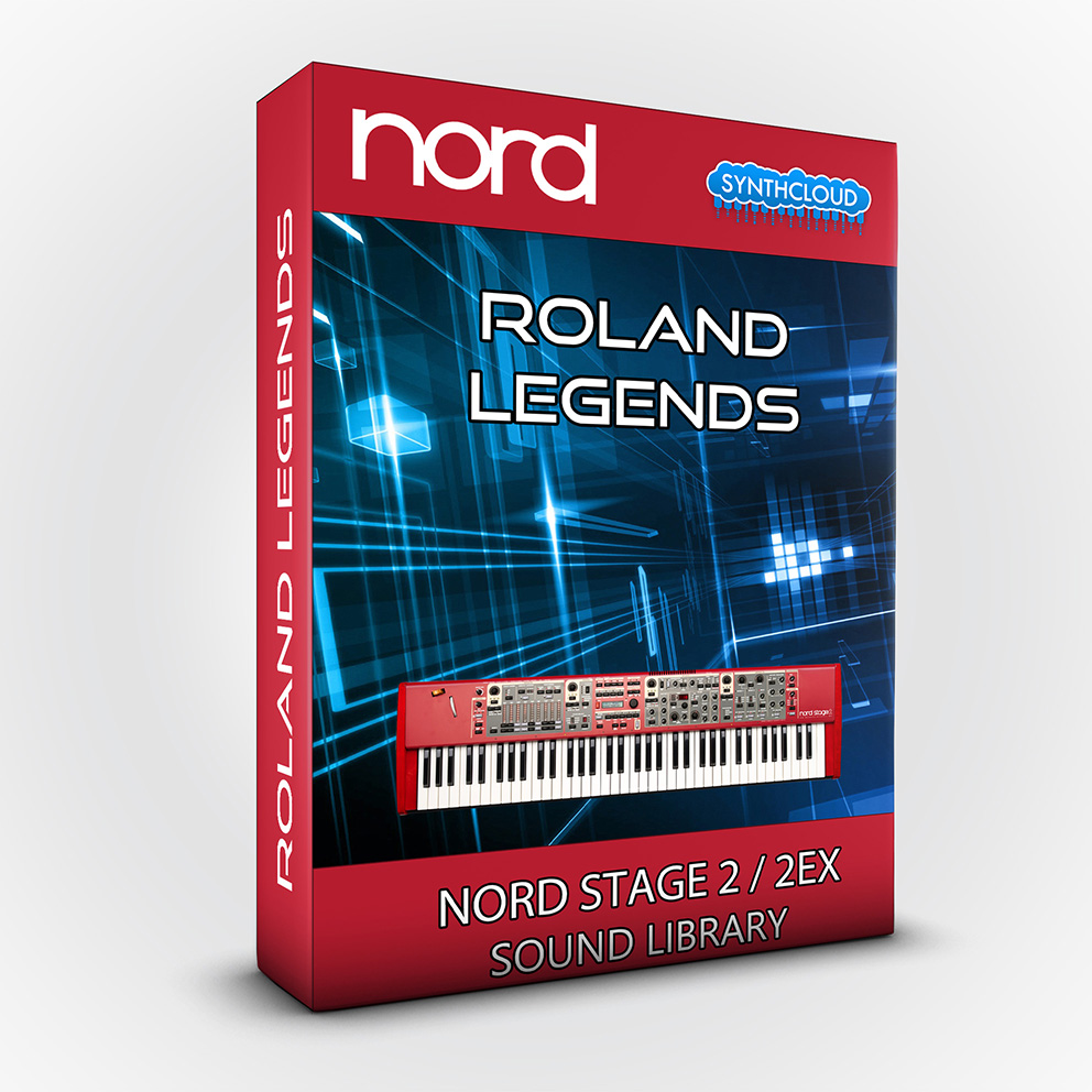 LDX190 - Roland Legends - Nord Stage 2 / 2 EX