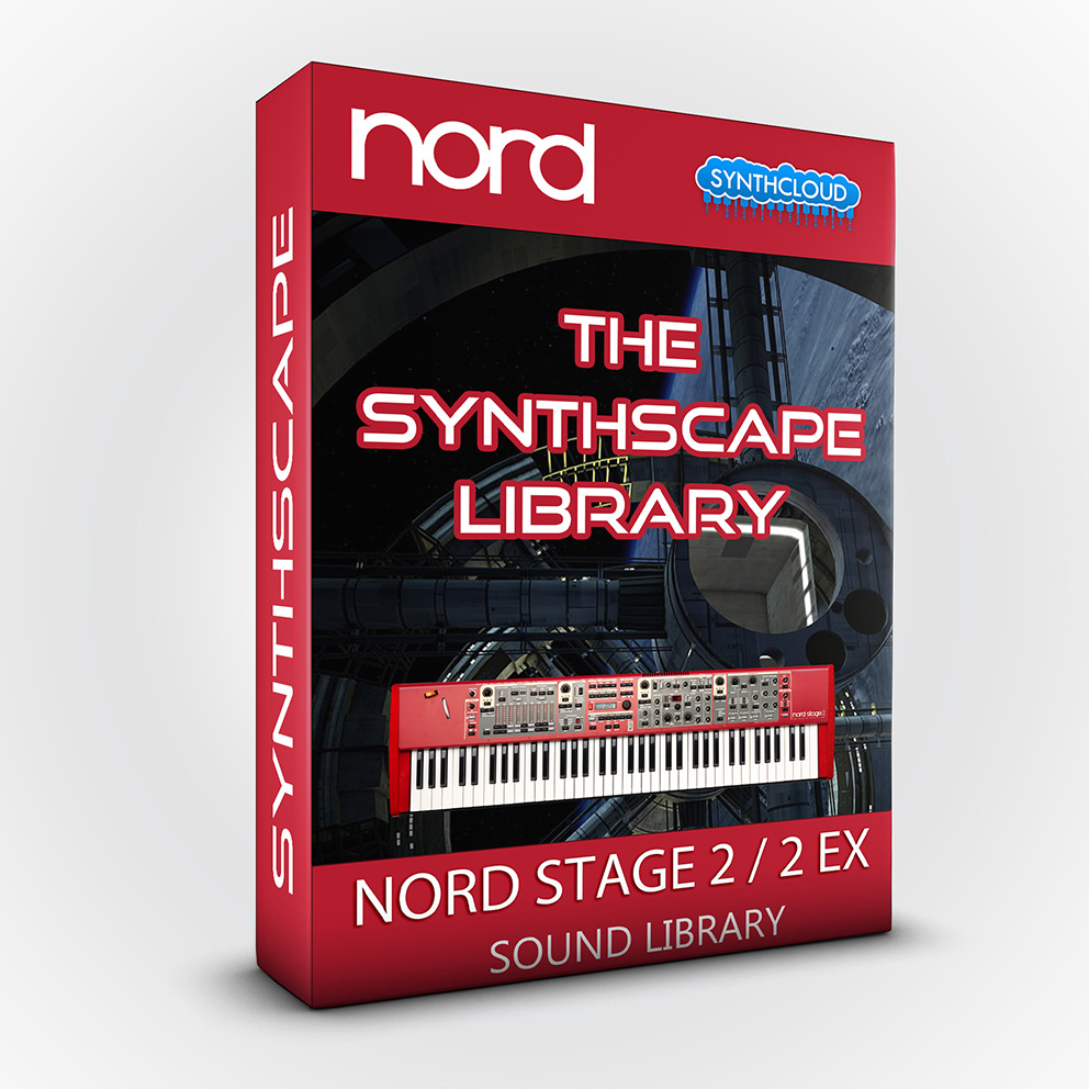 SLL022 - The Synthscape Library - Nord Stage 2 / 2 EX