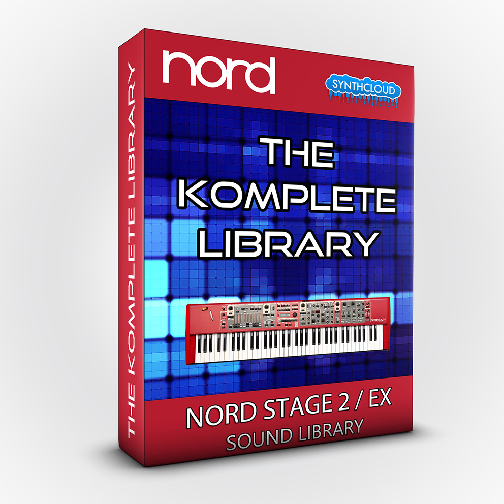 SLL016 - The Komplete Library - Nord Stage 2 / 2 EX