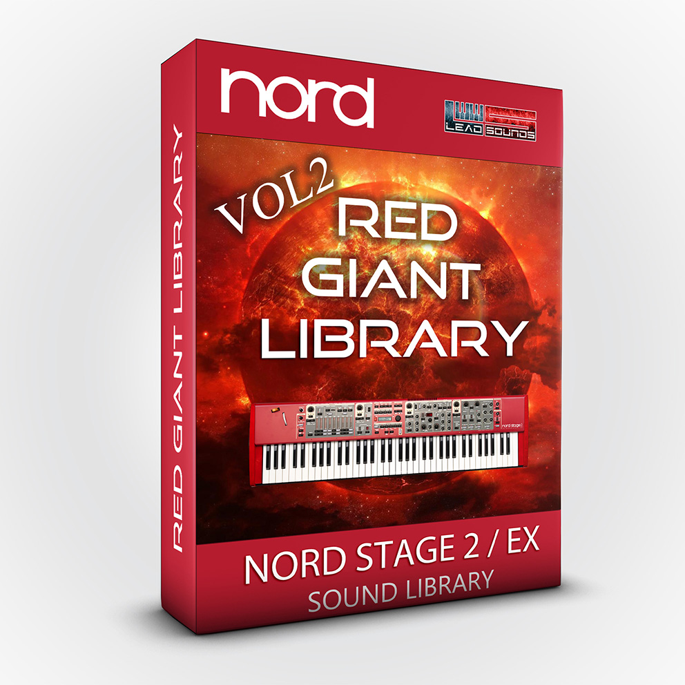 SCL63 - Red Giant Library MKII - Nord Stage 2 / 2 EX