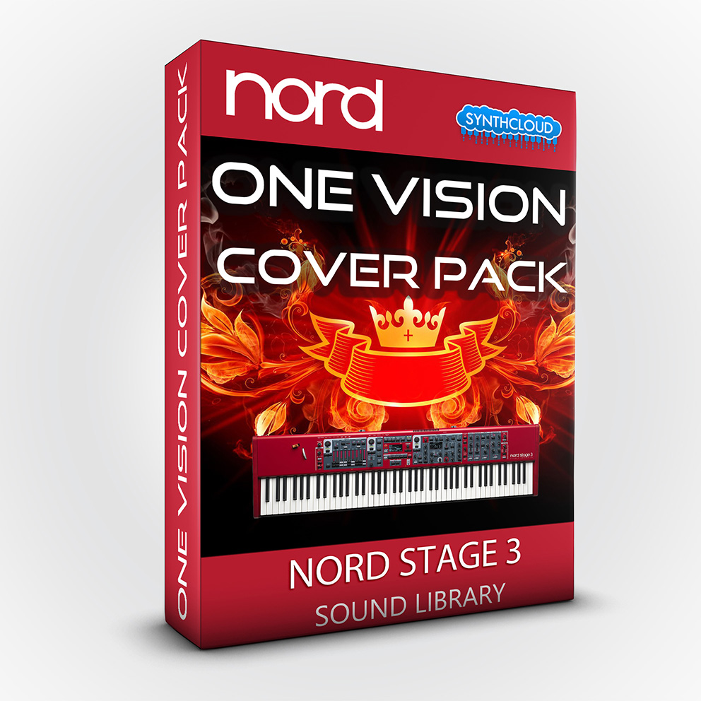 LDX157 - One vision Cover Pack - Nord Stage 3