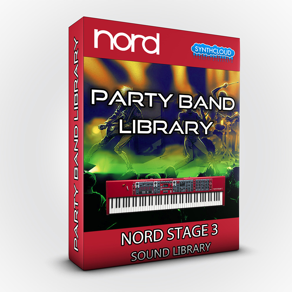 ASL021 - Party Band Library - Nord Stage 3