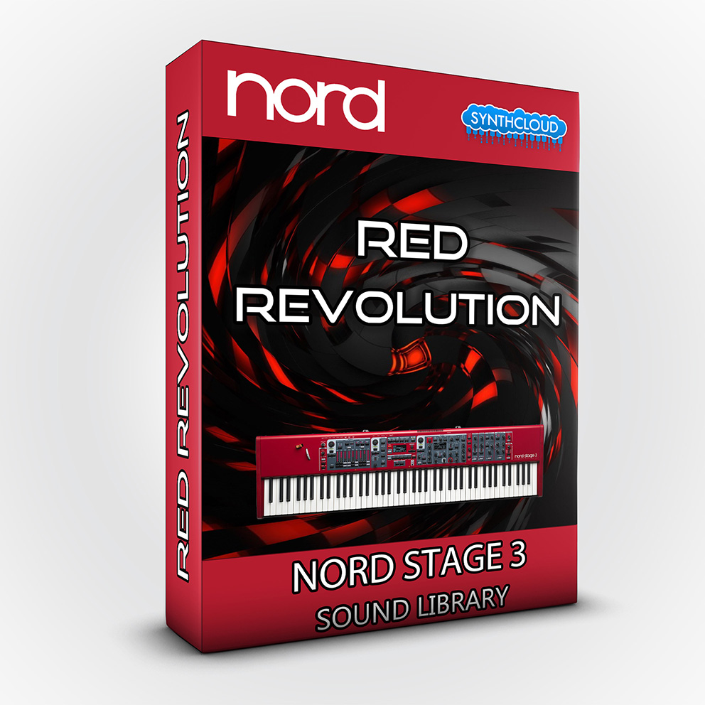 ASL024 - Red Revolution Bundle - Nord Stage 3
