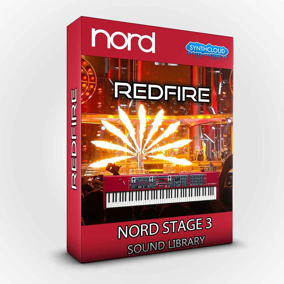 SCL167 - ( Bundle ) Red Fire + Red Giant XL - Nord Stage 3