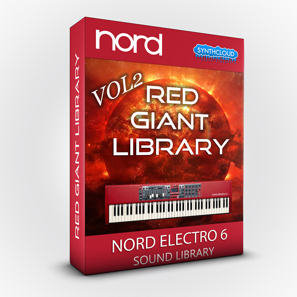 ASL002 - Red Giant Library Vol.2 - Nord Electro 6