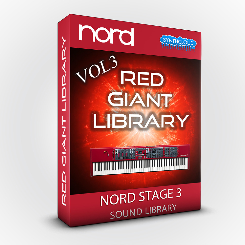 ASL003 - Red Giant Library Vol.3 - Nord Stage 3