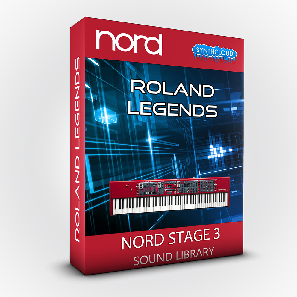 LDX190 - Roland Legends - Nord Stage 3