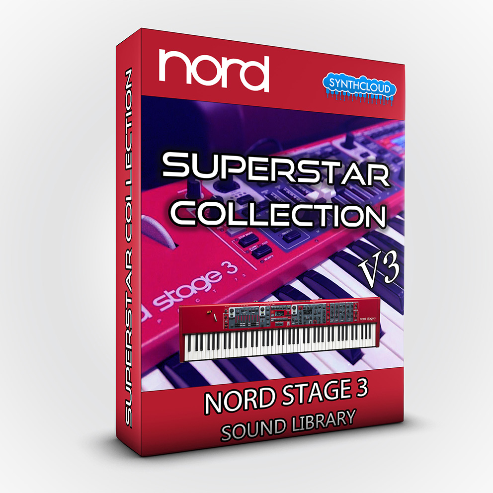 ASL018 - SuperStar Collection V3 - Nord Stage 3