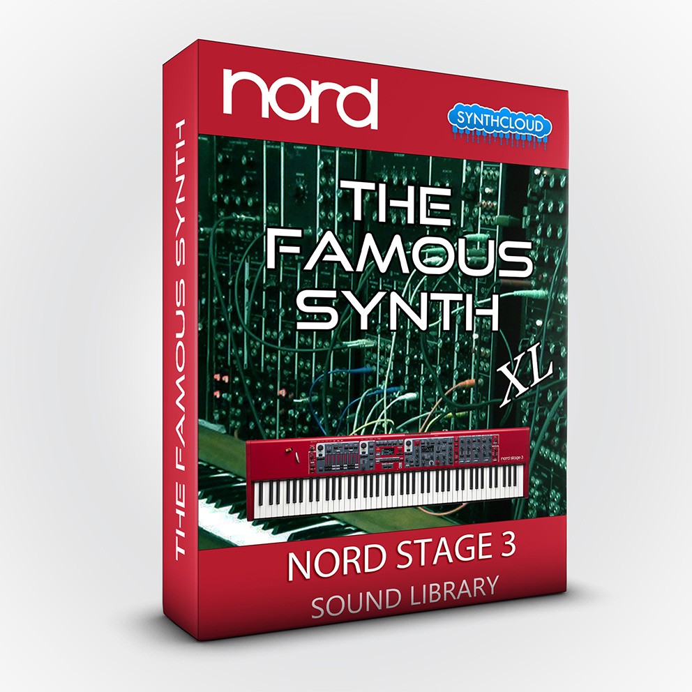SLL006 - The Famous Synth XL - Nord Stage 3