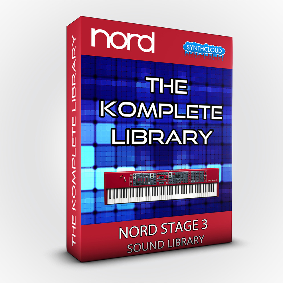 SLL016 - The Komplete Library - Nord Stage 3