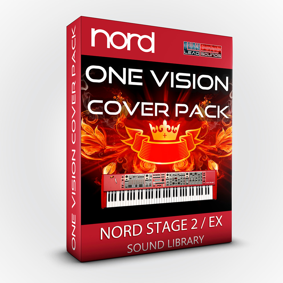 LDX157 - One vision Cover Pack - Nord Stage 2 / 2 EX