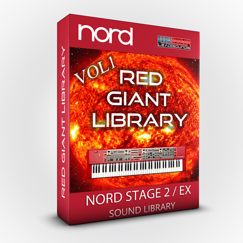 SCL62 - Red Giant Library - Nord Stage 2 / 2 Ex