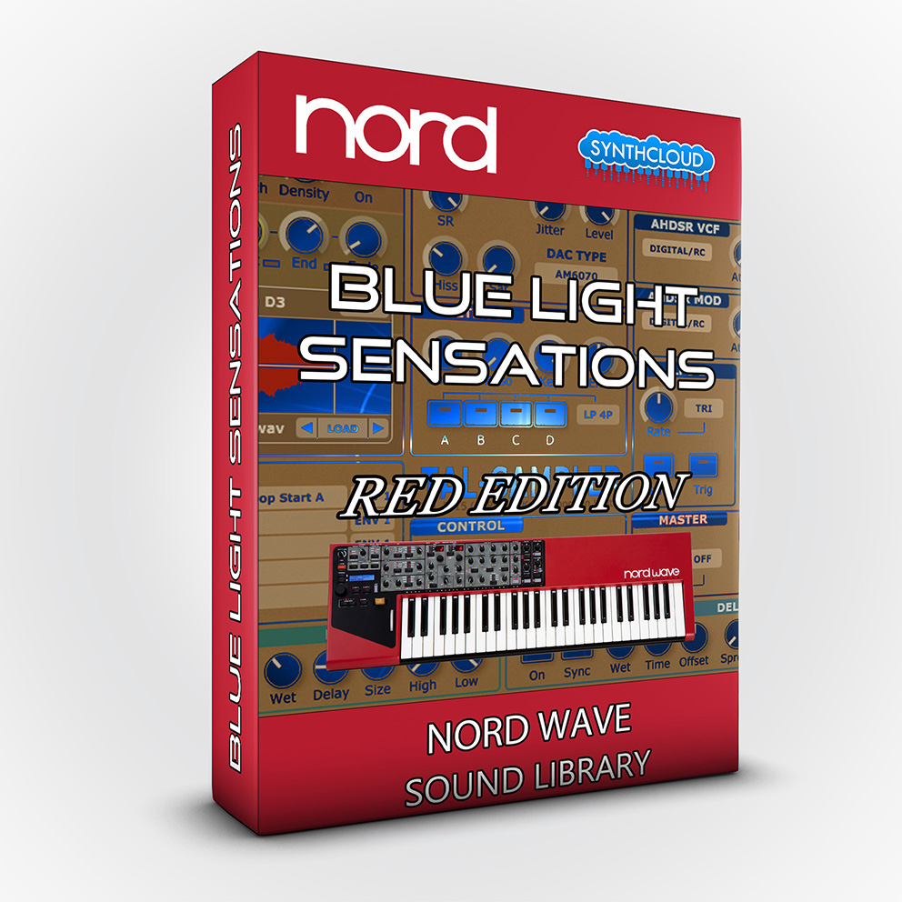 SCL114 - Blue Light Sensations (Red Edition) - Nord Wave
