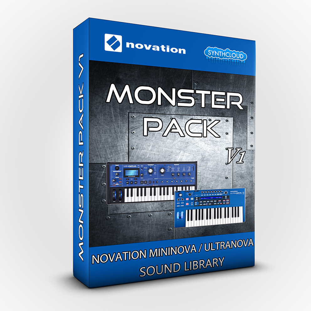 SCL201 - Monster Pack V. 1 - Novation Ultranova / Mininova