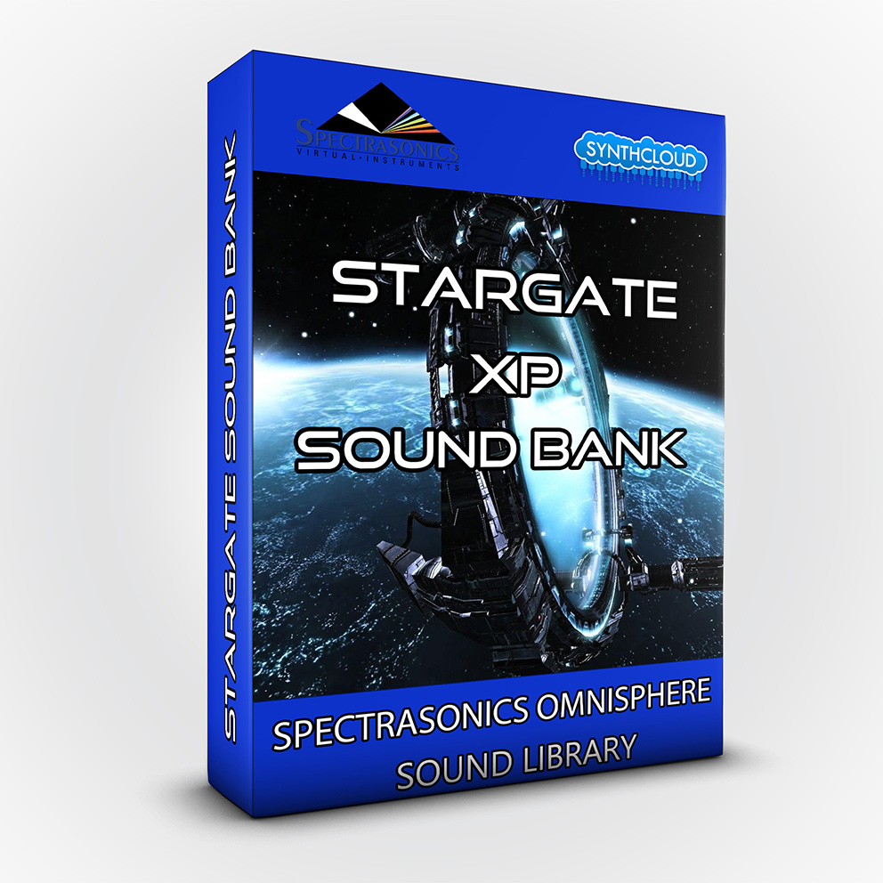 SCL142 - Stargate XP Sound Bank  - Spectrasonics Omnisphere 2