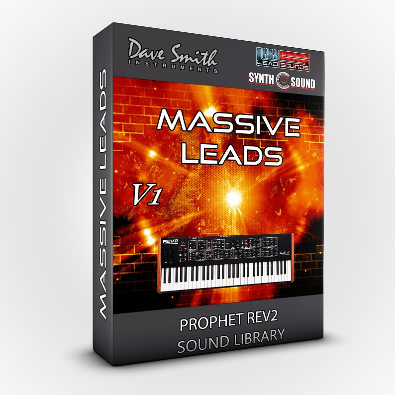 SSX130 - Massive Leads - DSI Prophet Rev2 ( 8 - 16 voices )