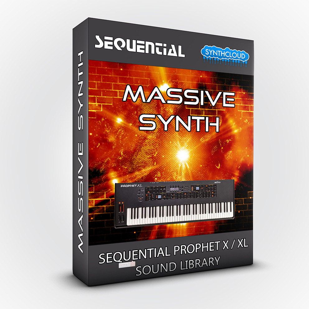 SCL193 - Massive Synth - Sequential Prophet X / XL