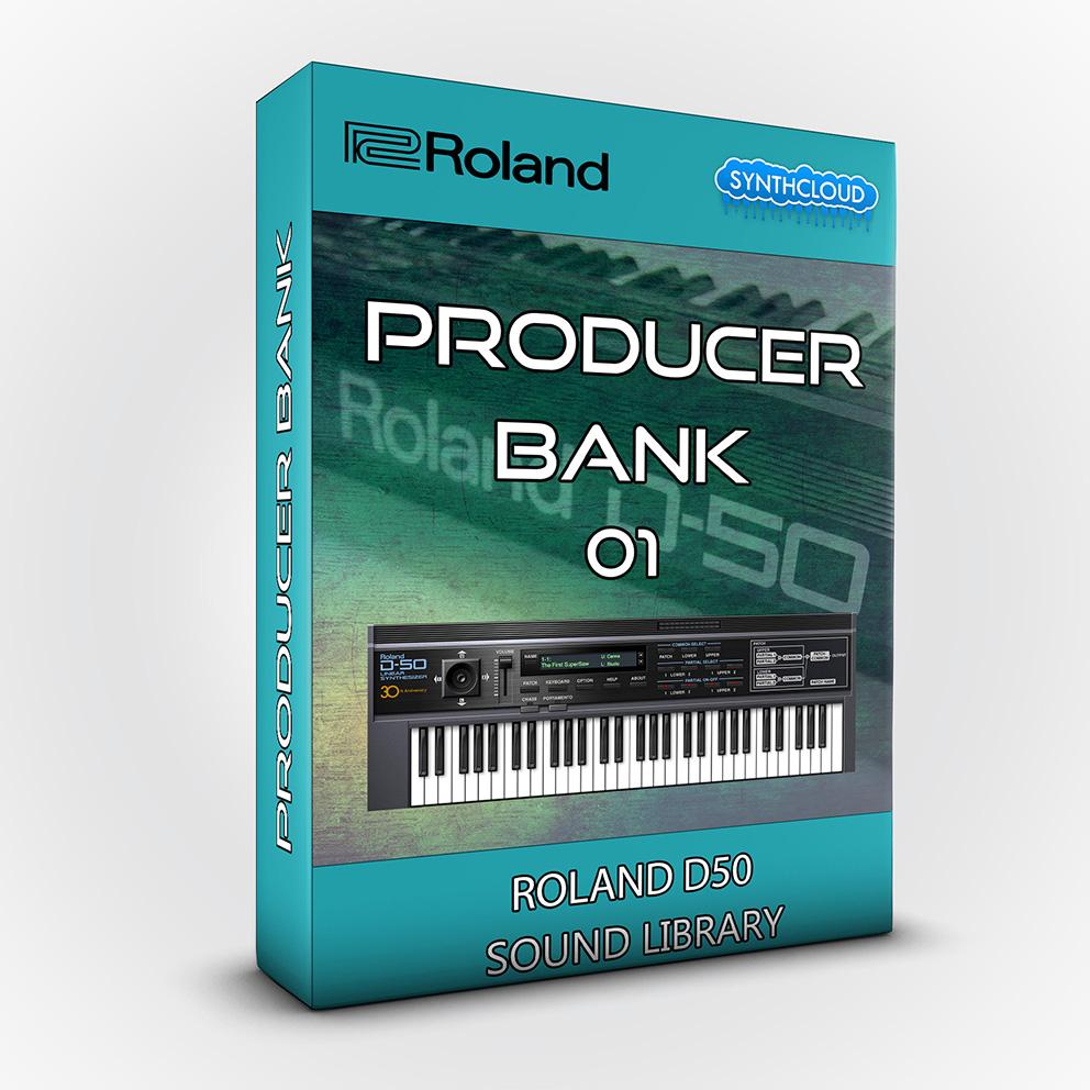 SCL210 - Producer Bank 01 - Roland D50